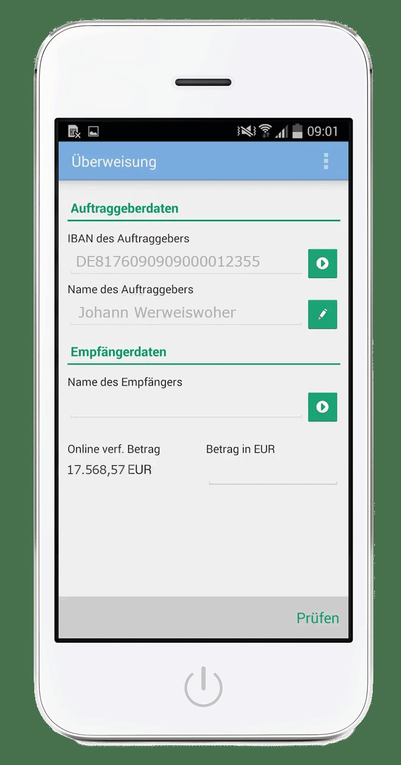 Banking ganz einfach - mit der PSD Banking App