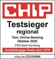 Bestes Online-Banking im Chip Test