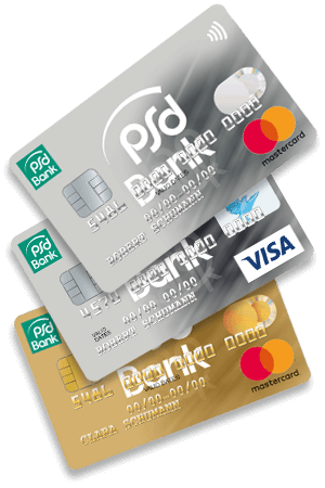 Kostenlose Karten - mit dem PSD GiroDirekt